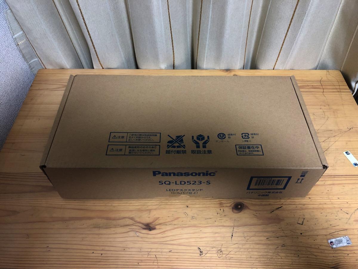 PanasonicLEDデスクライト届きました